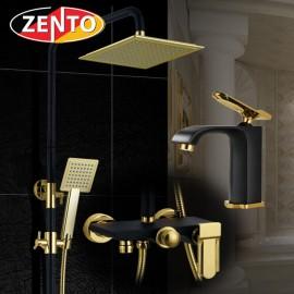 Combo sen cây, vòi lavabo Vintage Zento KM109